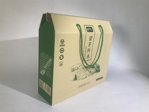尹小果包装盒 大米包装礼盒