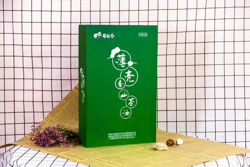 薄壳香山茶油书型盒