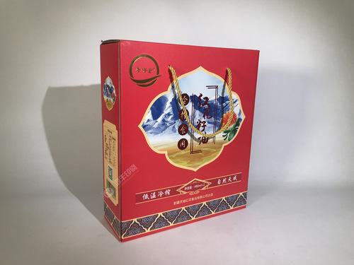 天域红花籽油瓦楞油盒