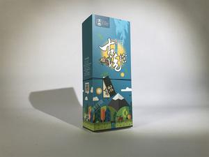 太谷粽子包装盒 粽子卡盒包装