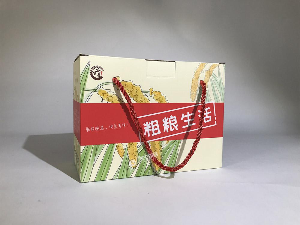 谷生道大米包裝盒 大米瓦楞禮盒.jpg