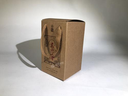 耒水清酒盒-牛皮纸盒