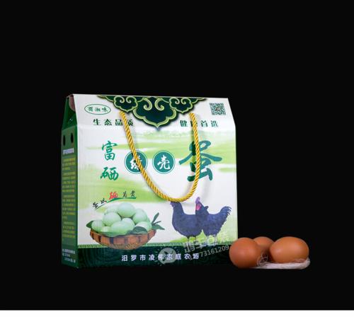 富硒绿壳蛋