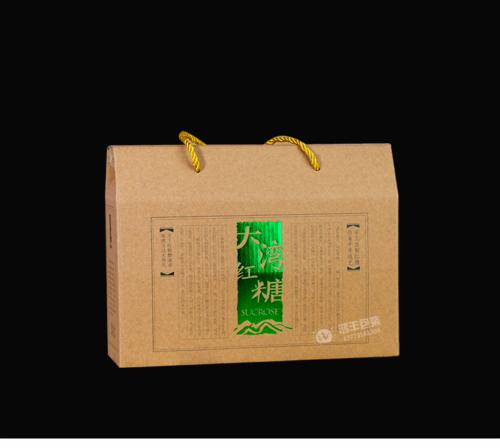 大湾红糖牛皮纸瓦楞盒