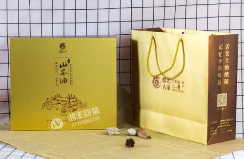 醴北人家山茶油盒